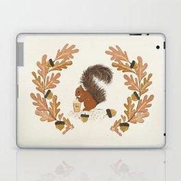 Pumpkin Spice Squirrel Laptop & iPad Skin