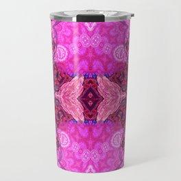 Royal Bojee Boho Magenta Queen Travel Mug