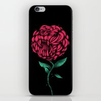 beauty and the beast iPhone & iPod Skins featuring Beauty And The Beast by Anwar Rafiee