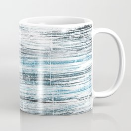 Ghost white abstract watercolor Coffee Mug