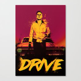 Drive (On the Beach) Canvas Print