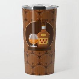 Cognac Travel Mug