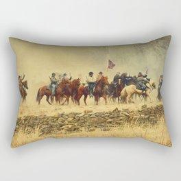 Under Attack Rectangular Pillow
