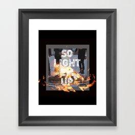 Fall Out Boy Framed Art Print