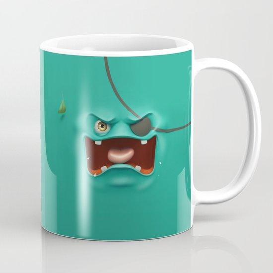 Angry face Mug