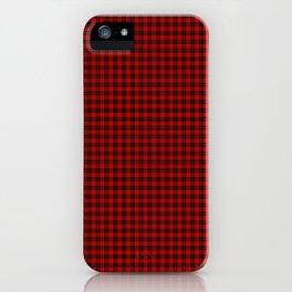 Wallace Tartan iPhone Case