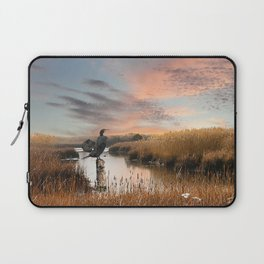 Sunset in the Wetlands Laptop Sleeve