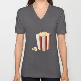 Popcorn Unisex V-Neck