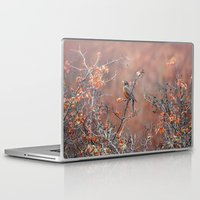 robin Laptop & iPad Skins featuring robin by RasaOm