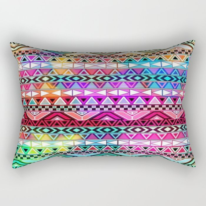 Colorful Tribal best decoration design ideas Rectangular Pillow