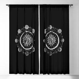 Boho Moon Blackout Curtain