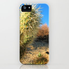 Joshua Tree National Forest Series 2 iPhone Case