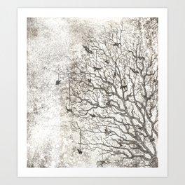 Tree Chimes Art Print