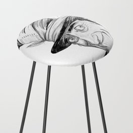 Mad Hatter Counter Stool