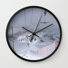 Empty T-lifts Wall Clock