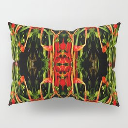 Chilli Pepper Paintography Pattern Pillow Sham