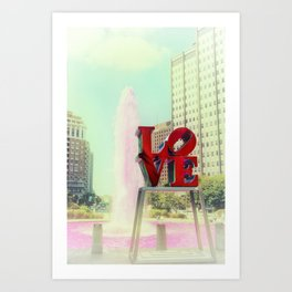 Philadelphia Love Kunstdrucke