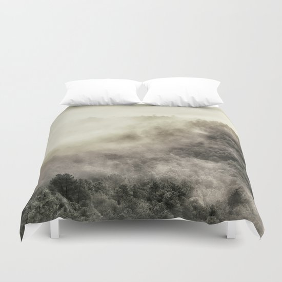 Live wild.... Retro series Duvet Cover