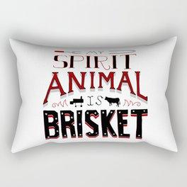 My Spirit Animal is Brisket Rectangular Pillow