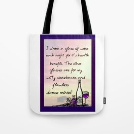 Flawless Dance Moves Tote Bag