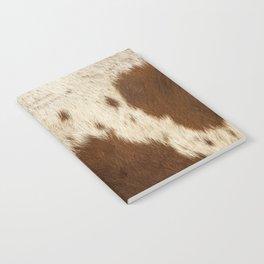 Pattern of a Longhorn bull cowhide. Notebook