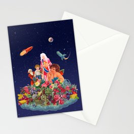 A Different Kind of Funky Universe Stationery Cards