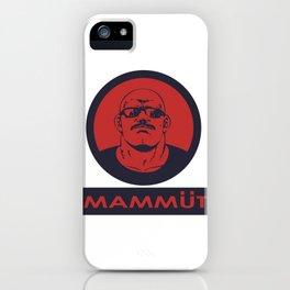Mammut iPhone Case