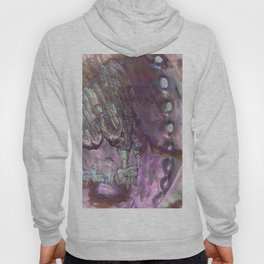 Shimmery Lavender Abalone Mother of Pearl Hoody