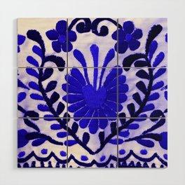 Strange Love Blue Wood Wall Art