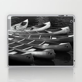 Moored Kayaks Laptop & iPad Skin