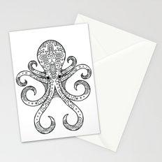 Mandarin Dragonet Octopus Stationery Cards