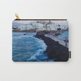 Greek Ilsand Waves Carry-All Pouch
