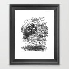River Copper Mine Framed Art Print