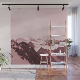 No limits - red Wall Mural