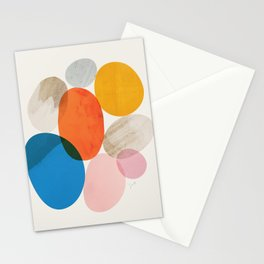 Abstraction_Pebbles_002 Stationery Cards