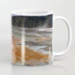 Mammoth Hot Spring Colors Coffee Mug