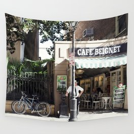 New Orleans Cafe Beignet Wall Tapestry