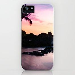 Paako Beach Sunset Jewels iPhone Case
