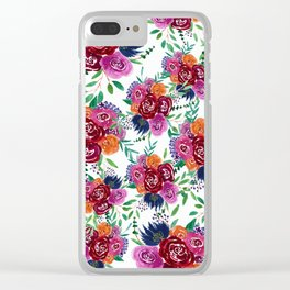 Her Roses Clear iPhone Case