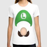luigi T-shirts featuring Luigi by Aaron Macias