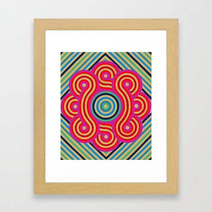 Cosmic Vibrations Within Framed Art Print