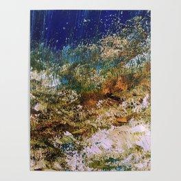 peninsula blue, monterey Poster