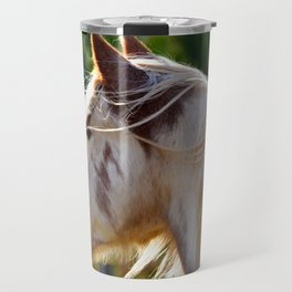Frost the Painted Pony ( horse ) Travel Mug
