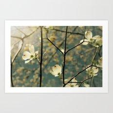 Spring tapestry Art Print