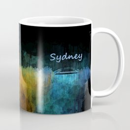 Sydney City Skyline Hq v4 Coffee Mug