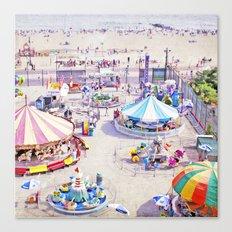 Coney Island Carnivale II Canvas Print