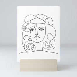 Womans Head ,Picasso Woman Mini Art Print