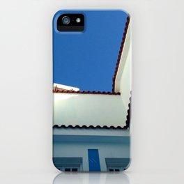 Blue Sky in Greece iPhone Case