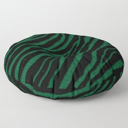 Ripped SpaceTime Stripes - Forest Floor Pillow