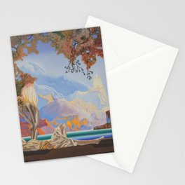 After Maxfield Parrish Stationery Cards